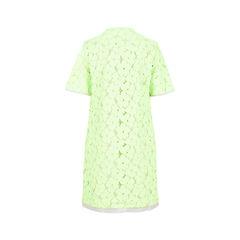 Diane von furstenberg green neon lace dress 2?1526964384
