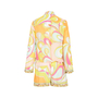 Authentic Second Hand Emilio Pucci Printed Silk Blend Romper (PSS-200-00719) - Thumbnail 1