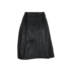 Burberry gathered leather skirt 2?1527051606