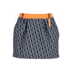 Monogram Mini Skirt