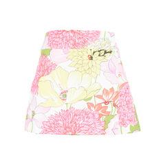 Floral Mini Wrap Skirt