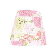 Burberry floral cotton mini wrap skirt 2?1527051830