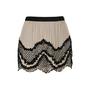 Authentic Second Hand Haute Hippie Beaded Silk Chiffon Mini Skirt (PSS-200-00535) - Thumbnail 0