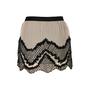 Authentic Second Hand Haute Hippie Beaded Silk Chiffon Mini Skirt (PSS-200-00535) - Thumbnail 1