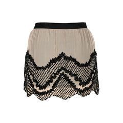 Haute hippie embellished mesh shorts 2?1527051899