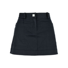 Chanel black cotton skirt 2?1527051961