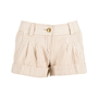 Authentic Second Hand Moschino Striped Cotton Shorts (PSS-200-00656) - Thumbnail 0