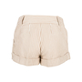 Authentic Second Hand Moschino Striped Cotton Shorts (PSS-200-00656) - Thumbnail 1