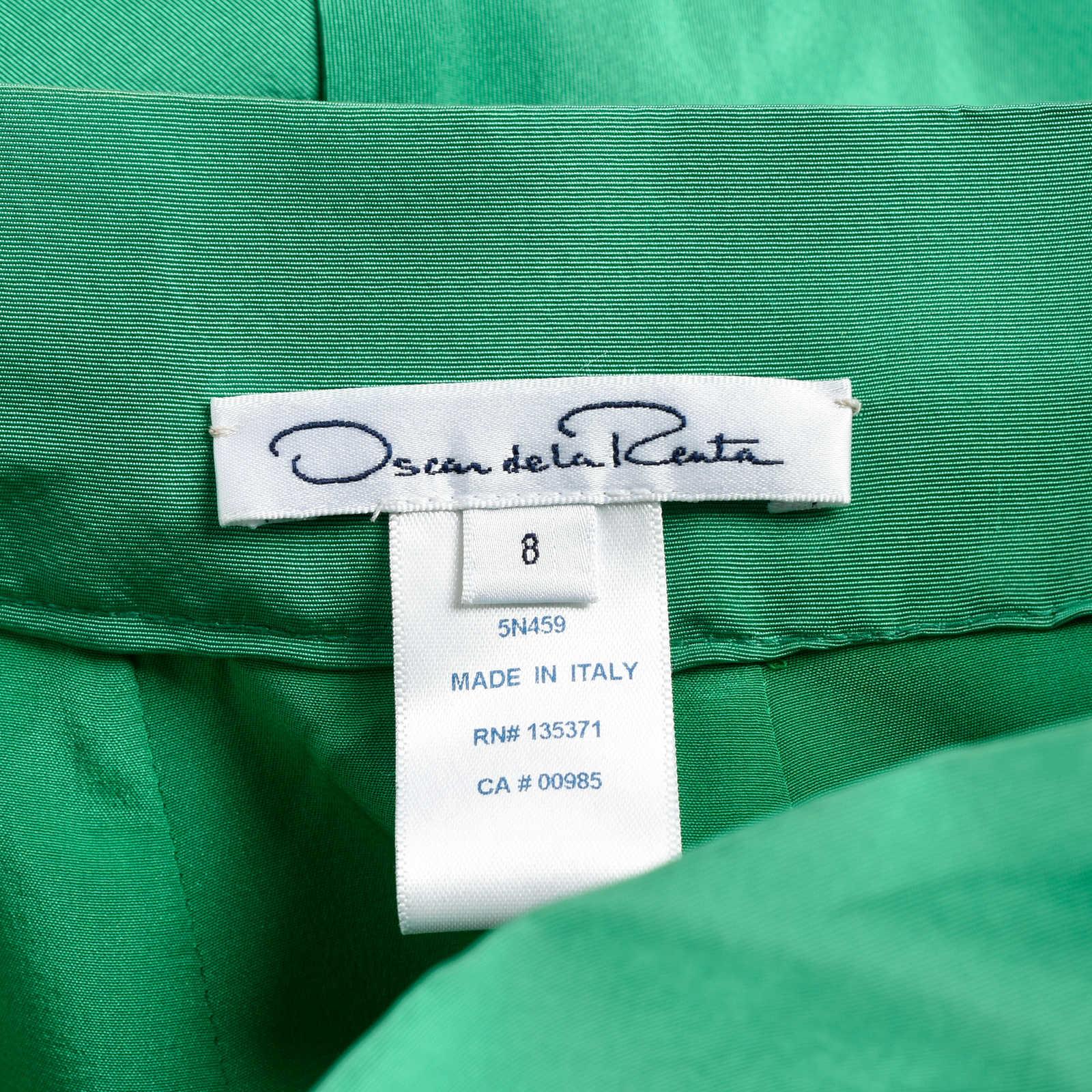 0f8a70f96da6c ... Authentic Second Hand Oscar de la Renta Flounce Mini Skirt  (PSS-200-00657