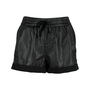 Authentic Second Hand Helmut Lang Leather Panel Shorts (PSS-200-00583) - Thumbnail 0