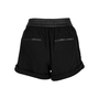 Authentic Second Hand Helmut Lang Leather Panel Shorts (PSS-200-00583) - Thumbnail 1