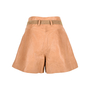 Authentic Second Hand See by Chloe Tie Waist Leather Shorts (PSS-200-00513) - Thumbnail 1