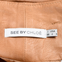Authentic Second Hand See by Chloe Tie Waist Leather Shorts (PSS-200-00513) - Thumbnail 2