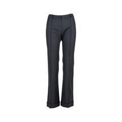 Wool Panelled Pants