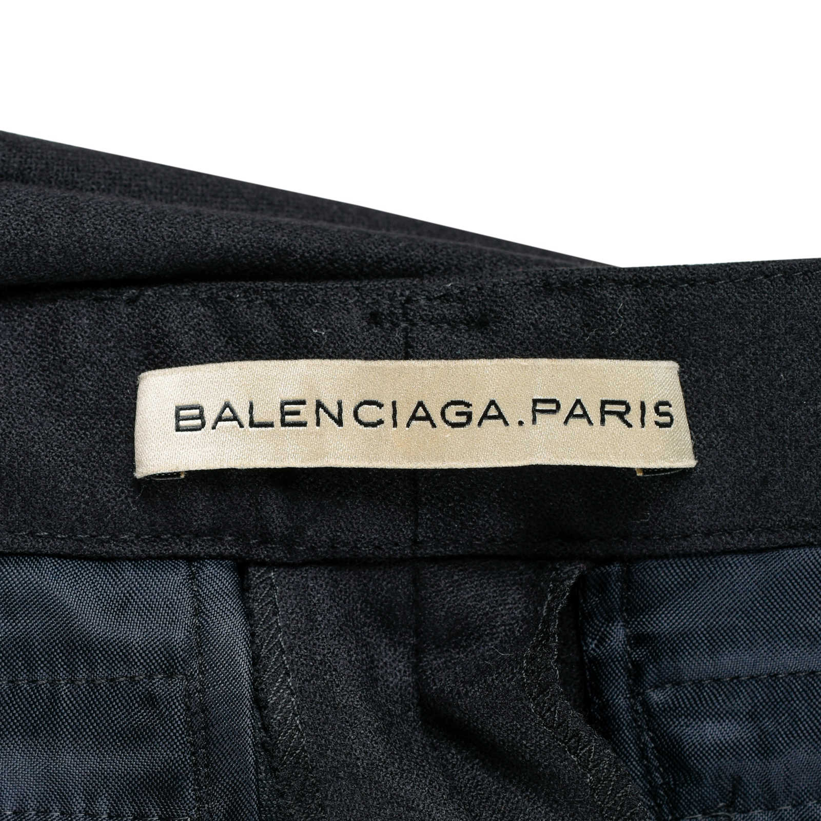 d00ffca49b62 ... Authentic Second Hand Balenciaga Wool Panelled Pants (PSS-200-00552) -  Thumbnail