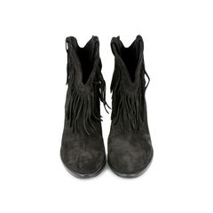 New Western Fringe Booties