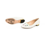 Authentic Second Hand Charlotte Olympia Embroidered Cotton Kitty Flats (PSS-200-01294) - Thumbnail 3