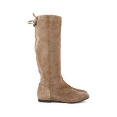 Hermes suede tie boots 2?1527490675
