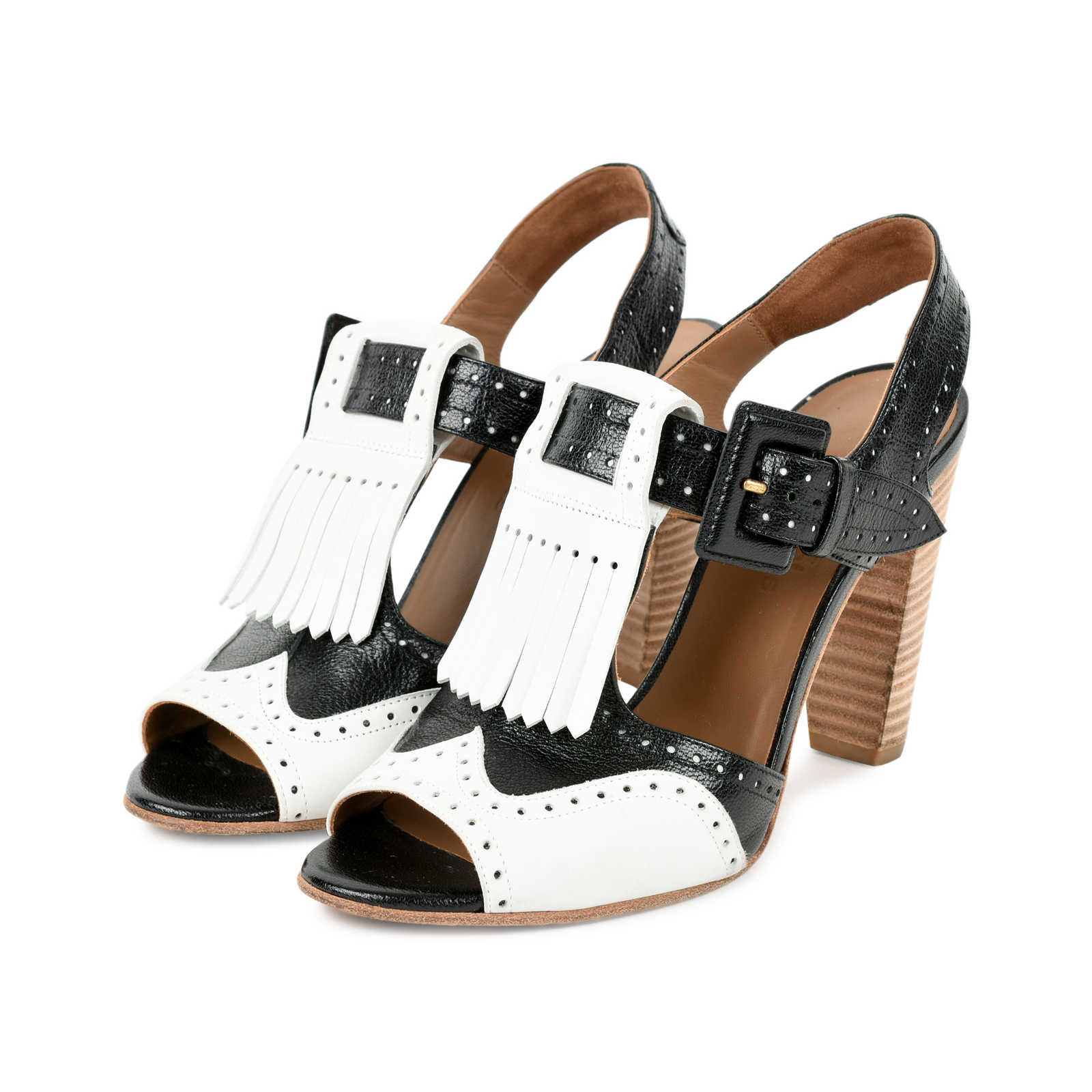 9db44a152a13 ... Authentic Second Hand Hermès Stacked Heel Sandals (PSS-235-00094) -  Thumbnail ...