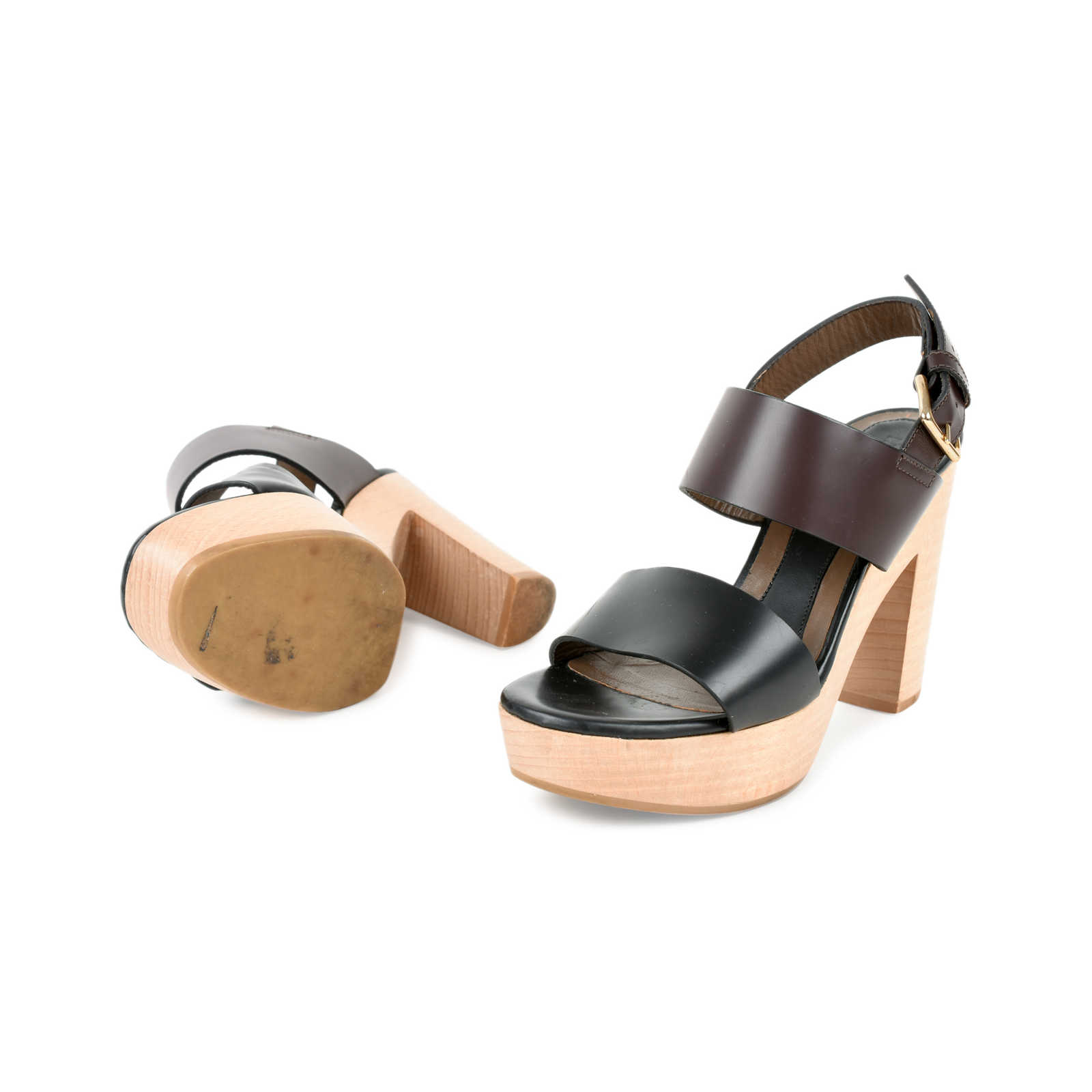 21b57933e80c ... Authentic Second Hand Marni Block Heel Sandals (PSS-235-00096) -  Thumbnail ...