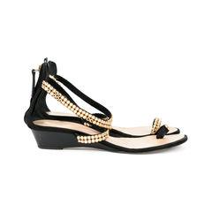 Giuseppe zanotti embellished sandals yellow 2?1527493668