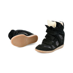 Isabel marant suede wedge sneakers 2?1527493696
