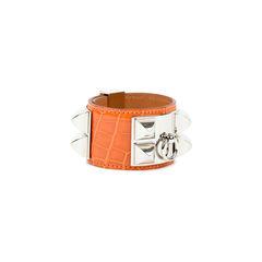 Hermes alligator collier de chien bracelet 2?1527495092