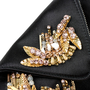 Alexander Mcqueen De Manta Medium Embellished Clutch - Thumbnail 5