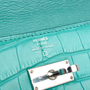 Authentic Second Hand Hermès Alligator Kelly Long Wallet (PSS-473-00066) - Thumbnail 8