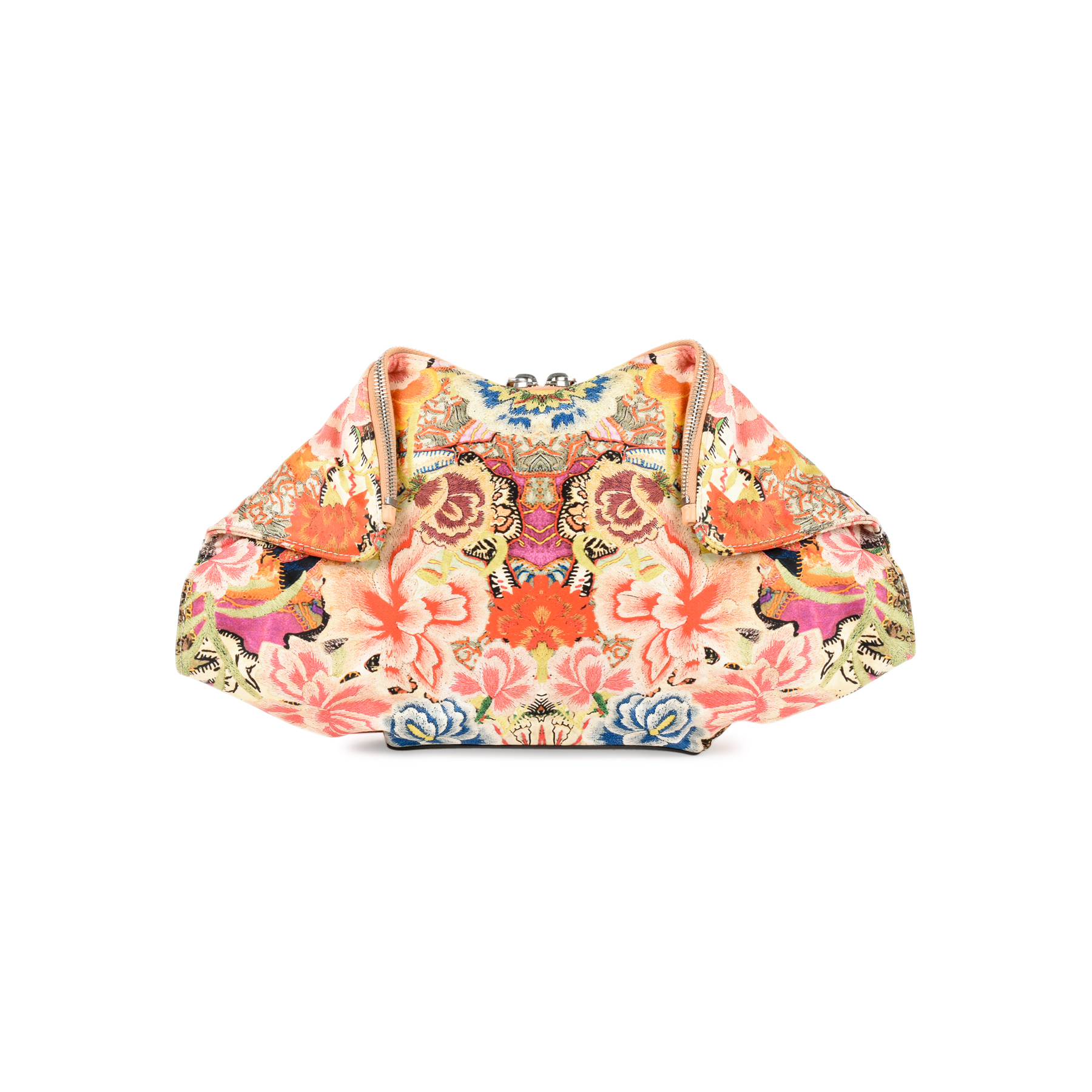 3671b320b Authentic Second Hand Alexander McQueen De Manta Patchwork Floral Clutch  (PSS-235-00082) - THE FIFTH COLLECTION