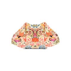 De Manta Patchwork Floral Clutch