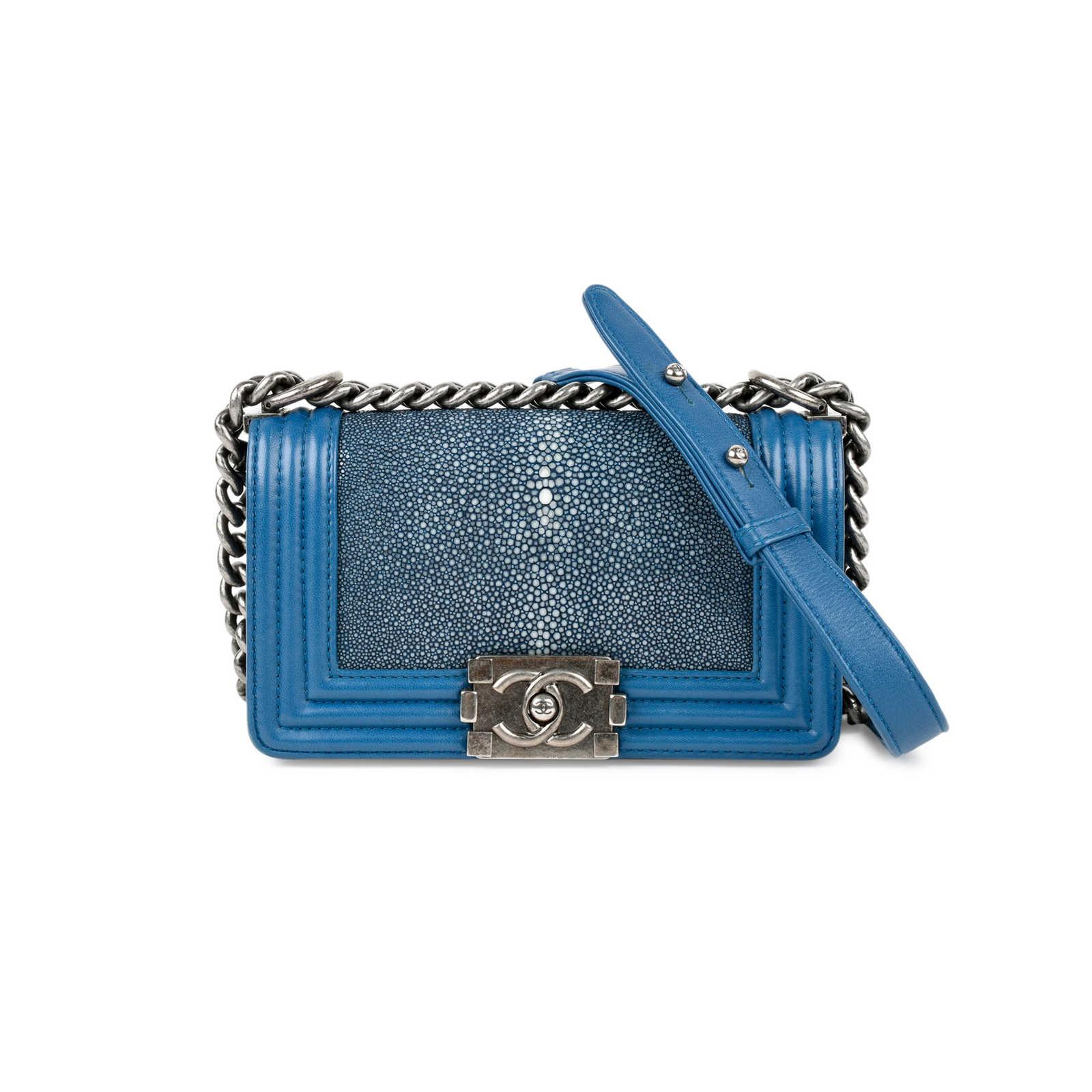 ed3f4722e0e5 Authentic Second Hand Chanel Stingray Boy Bag (PSS-235-00084) - Thumbnail  ...