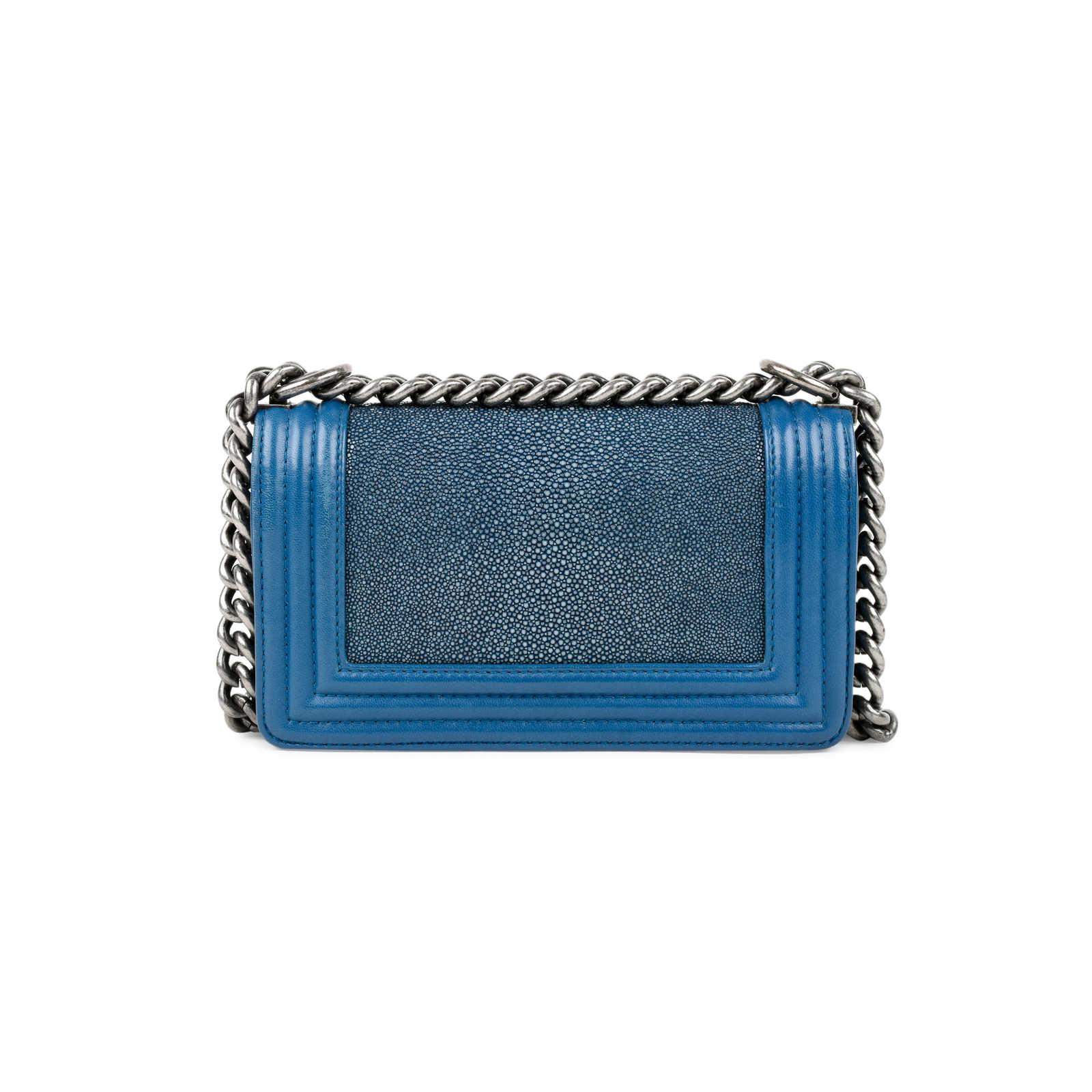 2aa5ecd57d7e ... Authentic Second Hand Chanel Stingray Boy Bag (PSS-235-00084) -  Thumbnail ...