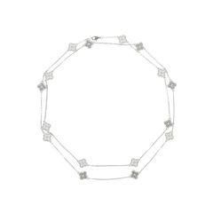 Diamond Sweet Alhambra Necklace