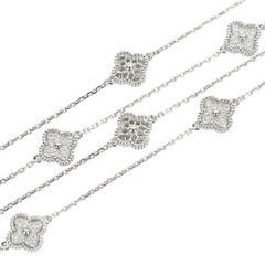 Van cleef and arpels diamond sweet alhambra necklace 2?1527737868