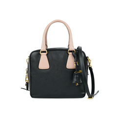 Saffiano Box Satchel Bag