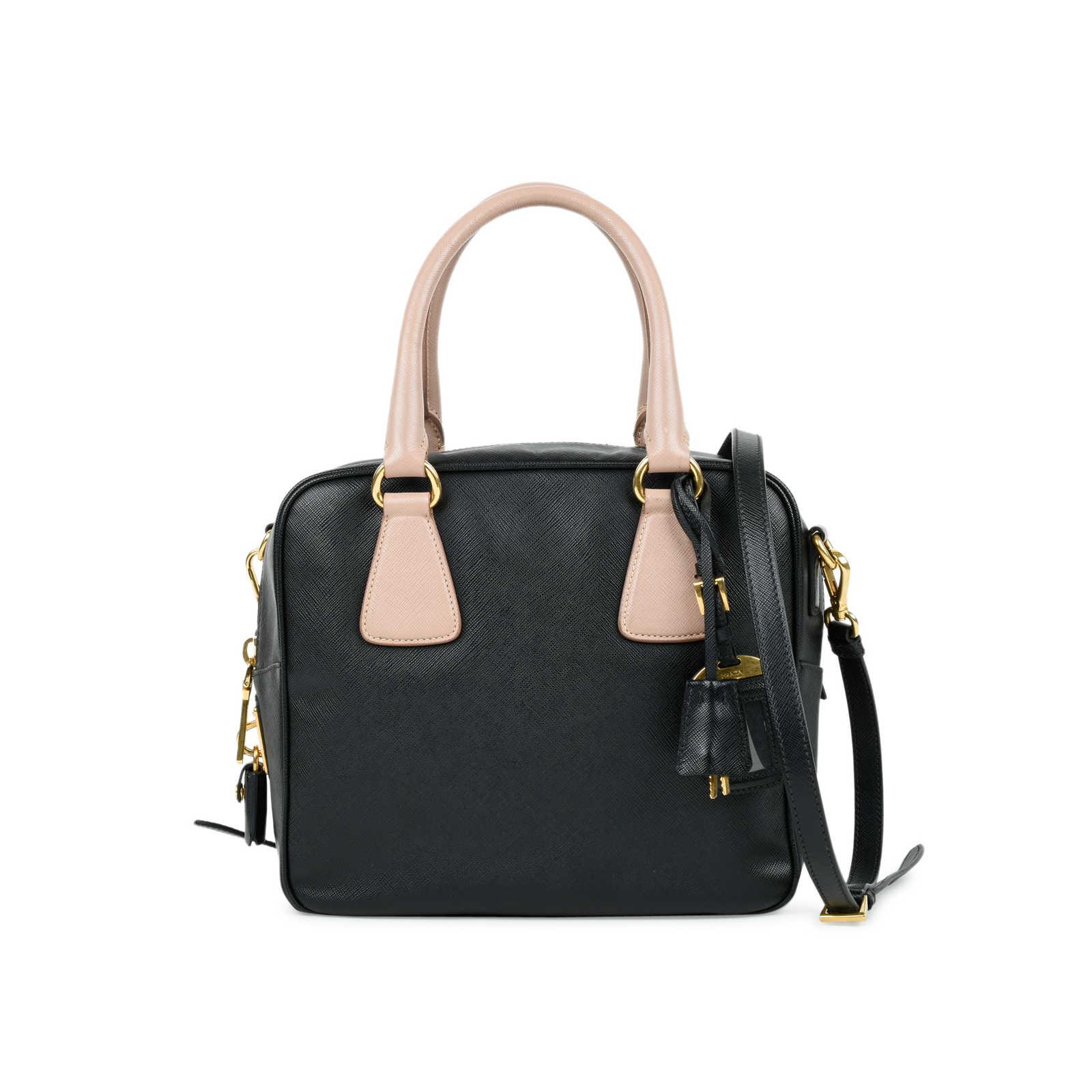 Authentic Second Hand Prada Saffiano Box Satchel Bag (PSS-485-00001) ... e5a3cfac850a3