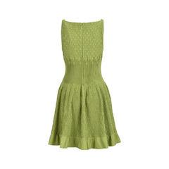 Azzedine alaia textured stretch knit dress 2?1528087233
