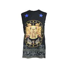 Saint Sleeveless T-Shirt