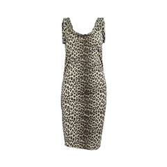 Leopard Print Swim Dress
