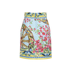 Dolce gabbana floral wheel brocade skirt 2?1528087448