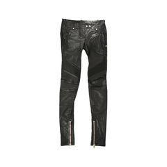 Leather Moto Pants
