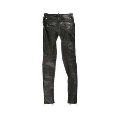 Balmain leather moto pants 2?1528087540