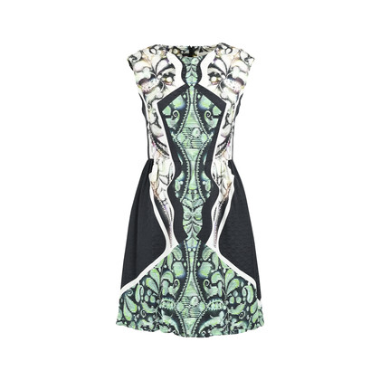 Authentic Second Hand Peter Pilotto Abstract Print Dress (PSS-235-00133)