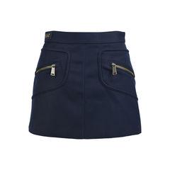 Navy Miniskirt