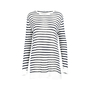 Authentic Second Hand T Alexander Wang Stripe Linen Tee (PSS-235-00116) - Thumbnail 0
