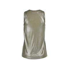 Balenciaga metallic sheen tank top 2?1528089141