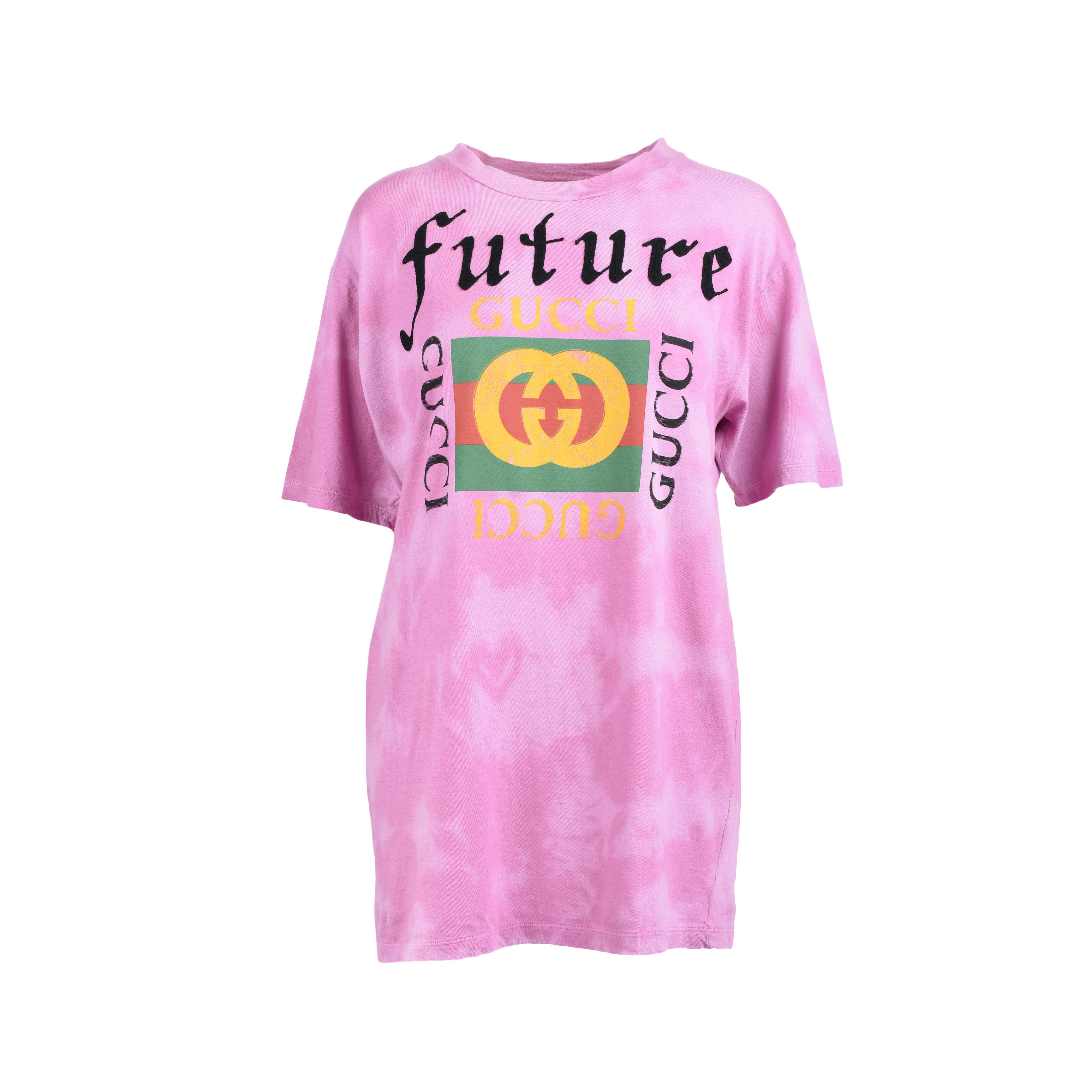 25ef8a42463 Authentic Second Hand Gucci Future Embroidered T-shirt (PSS-051-00347) |  THE FIFTH COLLECTION