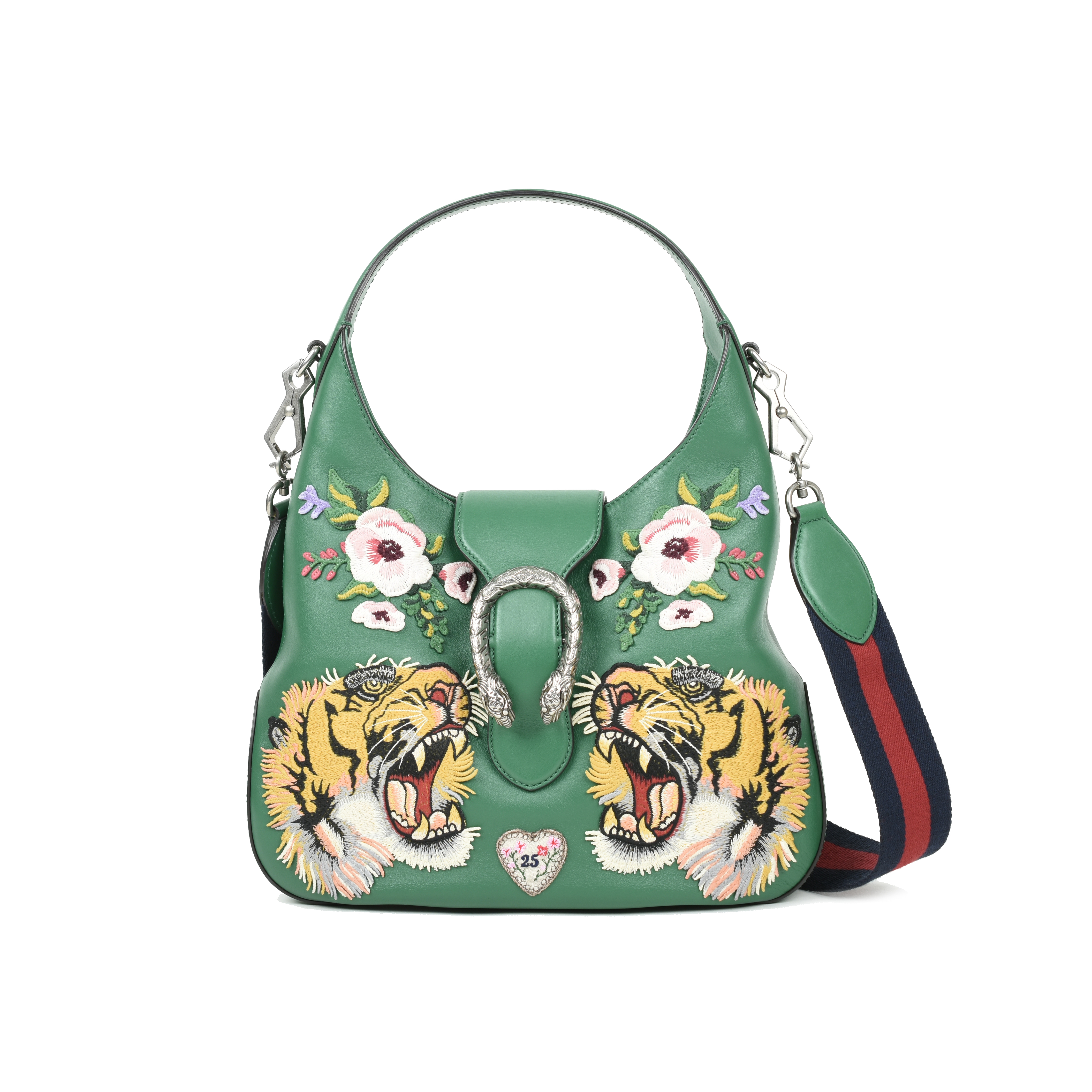 40685085909d Authentic Second Hand Gucci Dionysus Embroidered Hobo Bag (PSS-051-00343) |  THE FIFTH COLLECTION