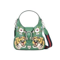 Dionysus Embroidered Hobo Bag
